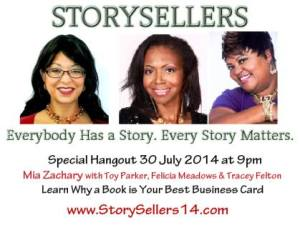 StorySellers Featured Speaker.7.30.14