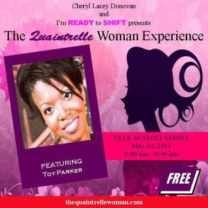 Toy's Quaintrelle Woman Experience speaking engagement 05.24.2014