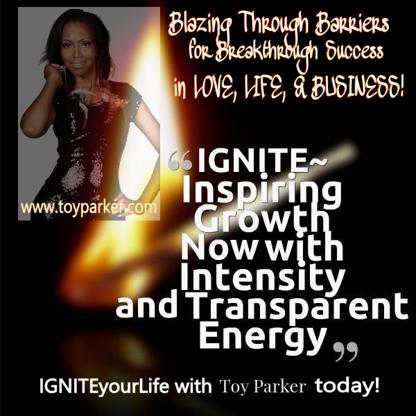 IGNITEyourLife with Toy Parker with slogan in a hot pic