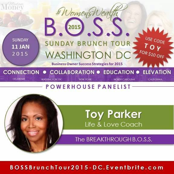 DC speaking engagement on a panel as the Breakthrough BOSS.2015