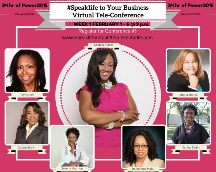Speak Life guest speaking appearance 2015