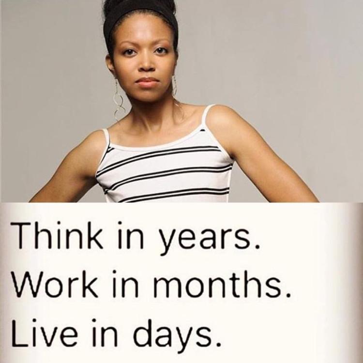 live in days work in months